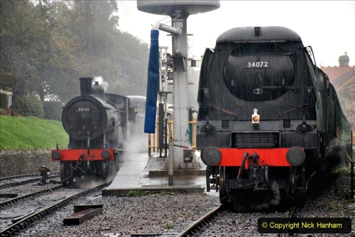 2019-10-11 Six Locomotives for the SR Autumn Steam Gala. (74) 074