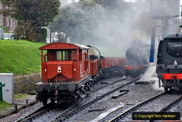 2019-10-11 Six Locomotives for the SR Autumn Steam Gala. (78) 078