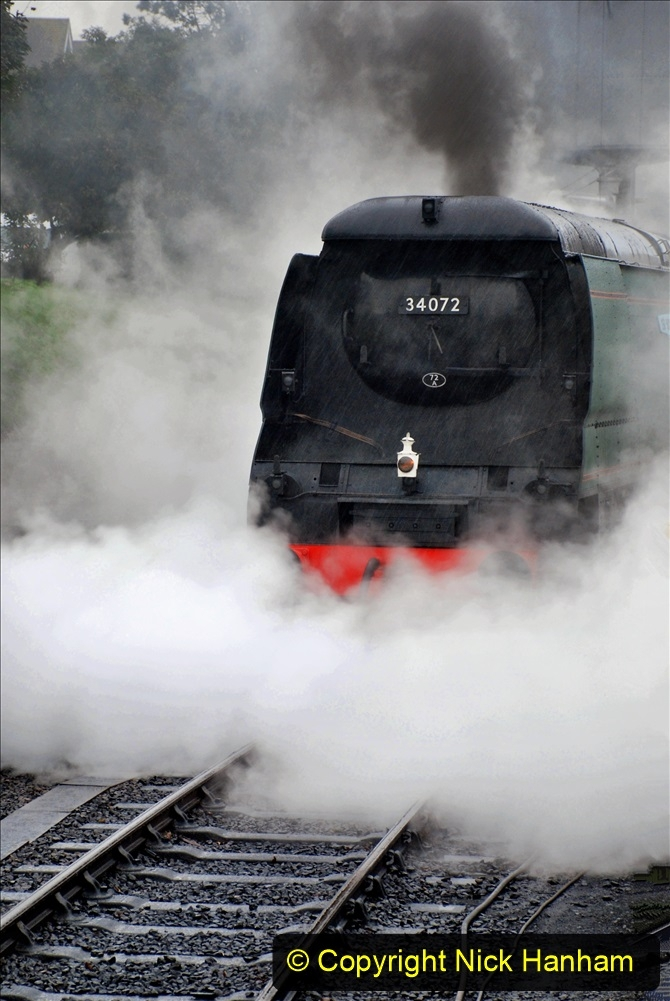 2019-10-11 Six Locomotives for the SR Autumn Steam Gala. (80) 080