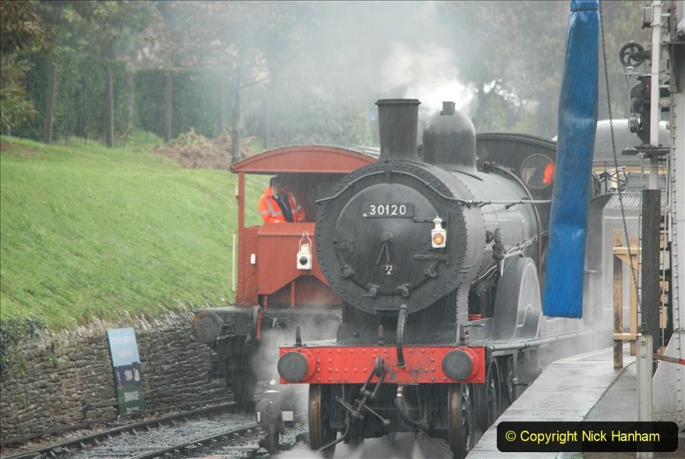 2019-10-11 Six Locomotives for the SR Autumn Steam Gala. (85) 085