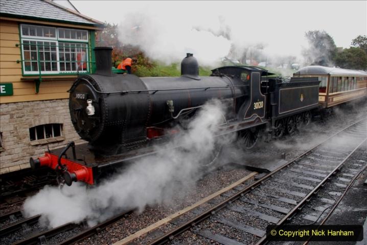 2019-10-11 Six Locomotives for the SR Autumn Steam Gala. (93) 093