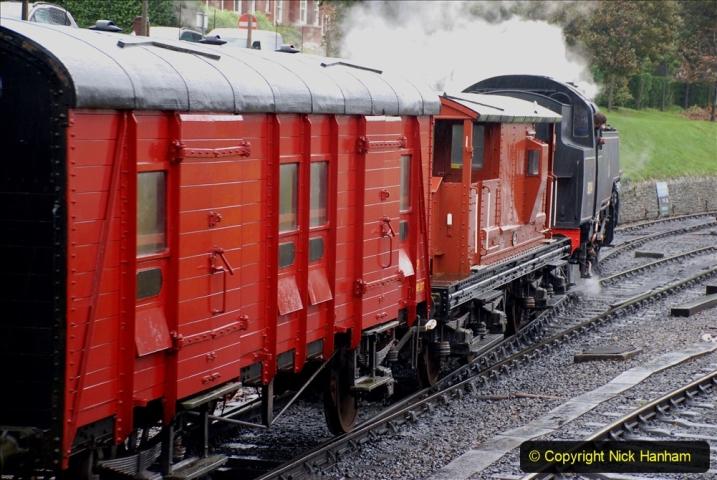 2019-10-11 Six Locomotives for the SR Autumn Steam Gala. (104) 104