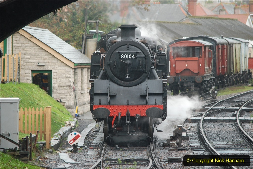 2019-10-11 Six Locomotives for the SR Autumn Steam Gala. (110) 110