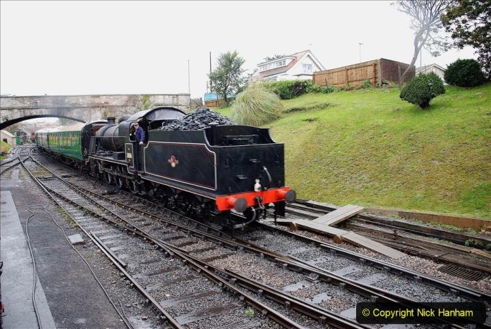 2019-10-11 Six Locomotives for the SR Autumn Steam Gala. (115) 115