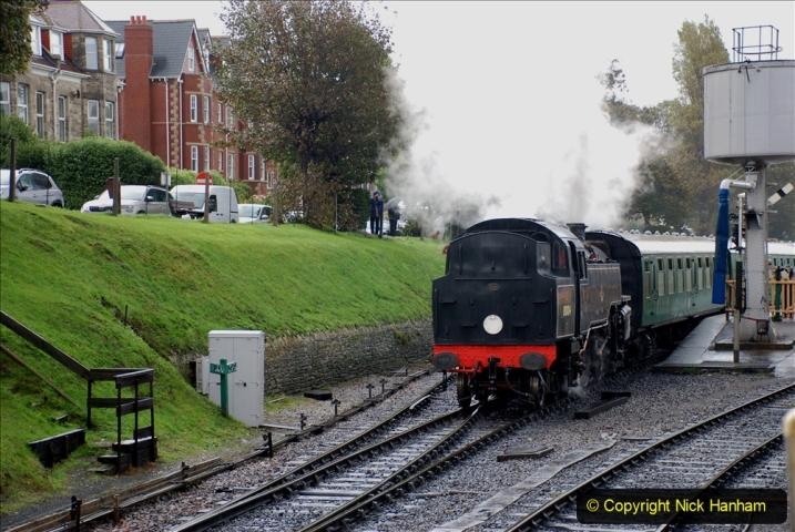 2019-10-11 Six Locomotives for the SR Autumn Steam Gala. (117) 117