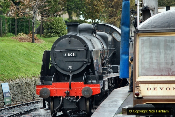 2019-10-11 Six Locomotives for the SR Autumn Steam Gala. (118) 118