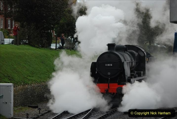 2019-10-11 Six Locomotives for the SR Autumn Steam Gala. (119) 119