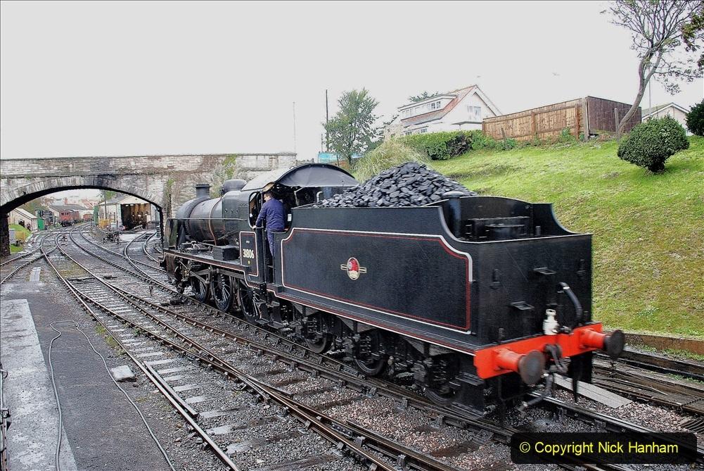 2019-10-11 Six Locomotives for the SR Autumn Steam Gala. (121) 121