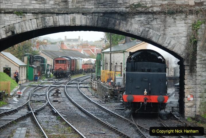 2019-10-11 Six Locomotives for the SR Autumn Steam Gala. (122) 122