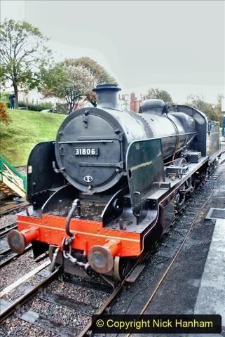 2019-10-11 Six Locomotives for the SR Autumn Steam Gala. (127) 127