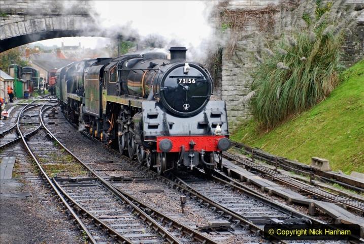 2019-10-11 Six Locomotives for the SR Autumn Steam Gala. (132) 132