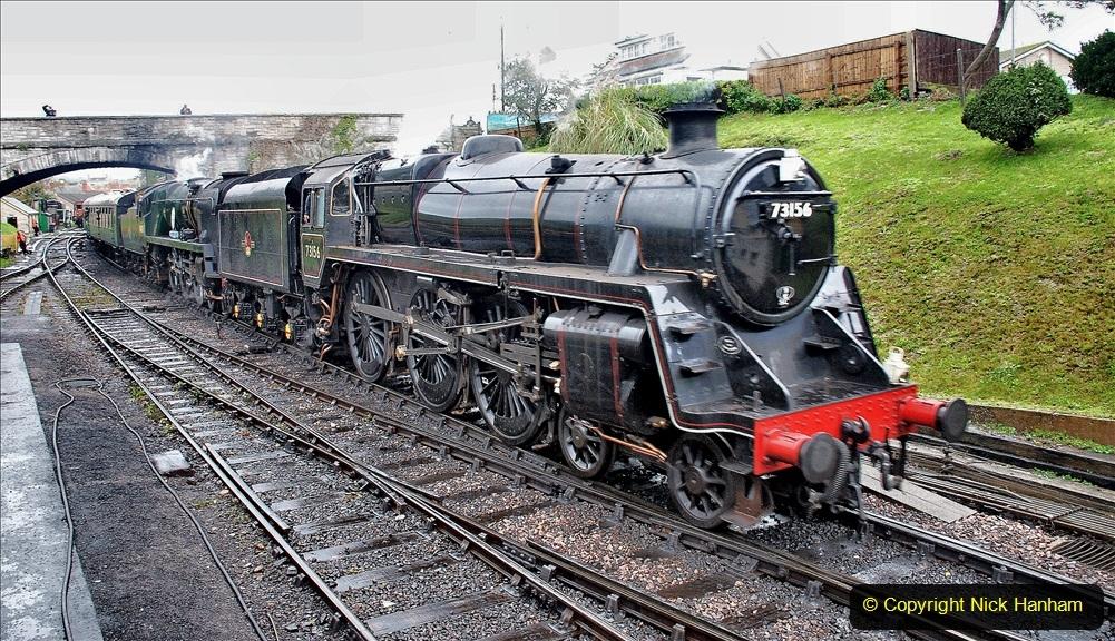2019-10-11 Six Locomotives for the SR Autumn Steam Gala. (134) 134