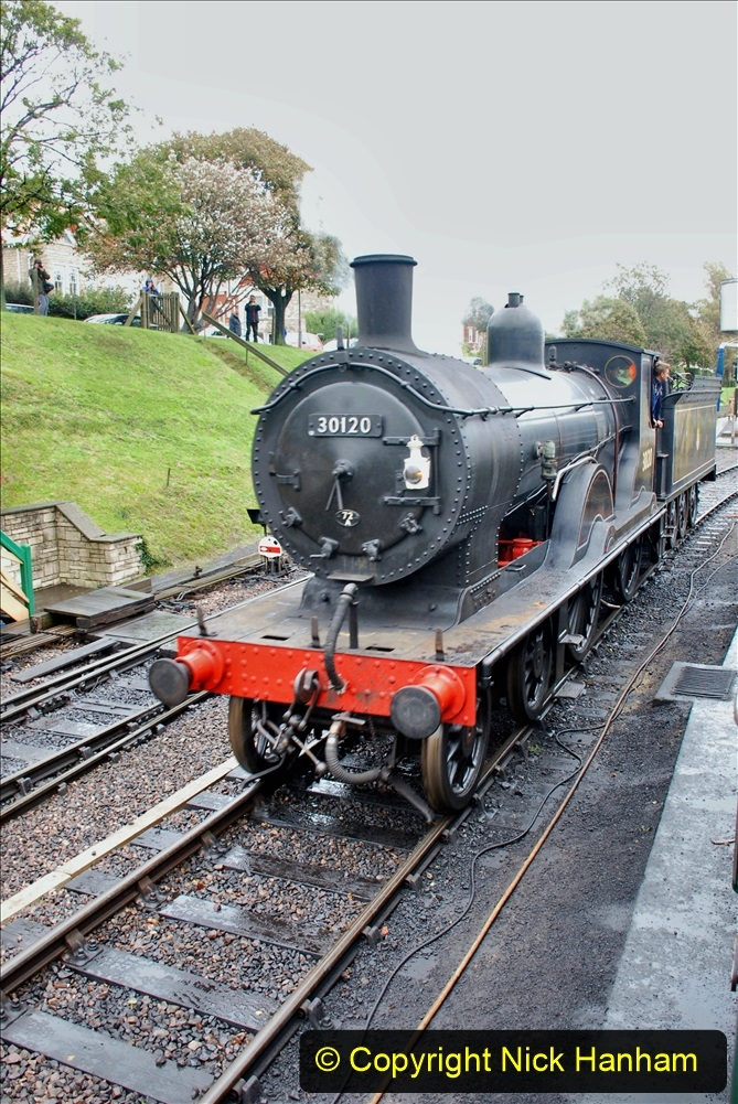 2019-10-11 Six Locomotives for the SR Autumn Steam Gala. (138) 138