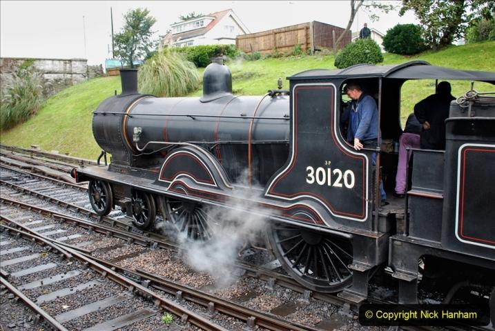 2019-10-11 Six Locomotives for the SR Autumn Steam Gala. (139) 139