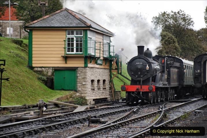 2019-10-11 Six Locomotives for the SR Autumn Steam Gala. (145) 145