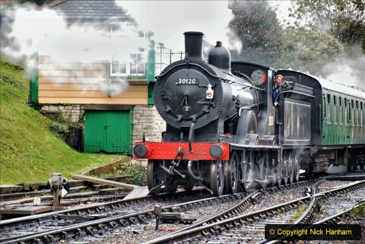 2019-10-11 Six Locomotives for the SR Autumn Steam Gala. (146) 146