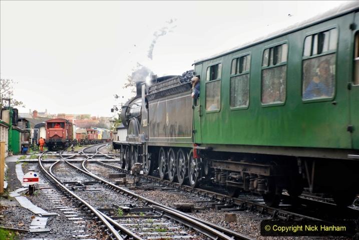 2019-10-11 Six Locomotives for the SR Autumn Steam Gala. (149) 149