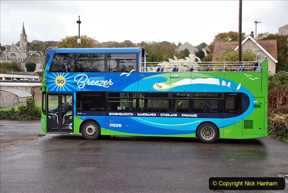 2019-10-11 Six Locomotives for the SR Autumn Steam Gala. (155) More Buses also have the SR as part of there livery. 155