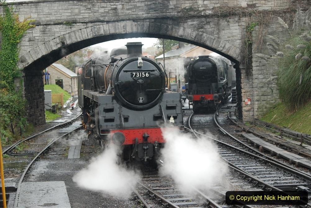 2019-10-11 Six Locomotives for the SR Autumn Steam Gala. (160) 160