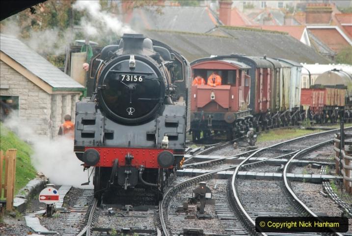 2019-10-11 Six Locomotives for the SR Autumn Steam Gala. (162) 162