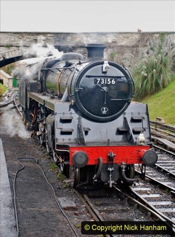 2019-10-11 Six Locomotives for the SR Autumn Steam Gala. (163) 163