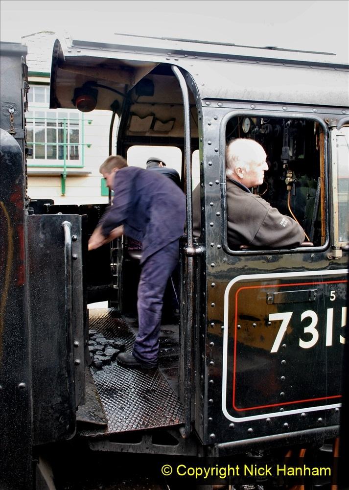 2019-10-11 Six Locomotives for the SR Autumn Steam Gala. (164) 164