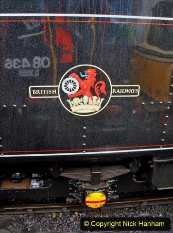 2019-10-11 Six Locomotives for the SR Autumn Steam Gala. (165) 165