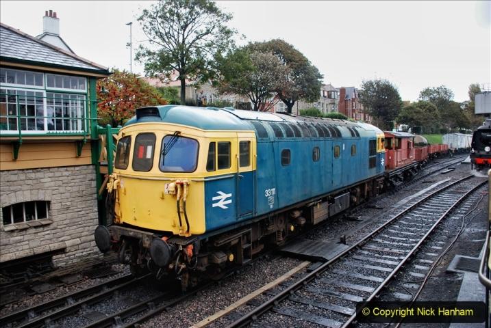2019-10-11 Six Locomotives for the SR Autumn Steam Gala. (176) 176