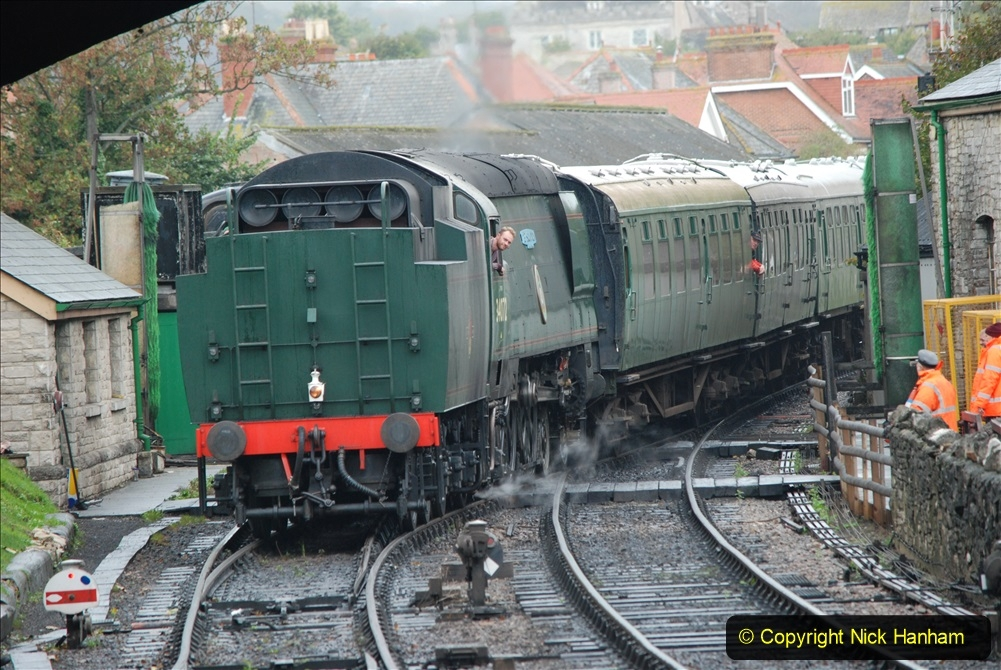 2019-10-11 Six Locomotives for the SR Autumn Steam Gala. (179) 179