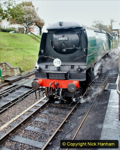 2019-10-11 Six Locomotives for the SR Autumn Steam Gala. (180) 180