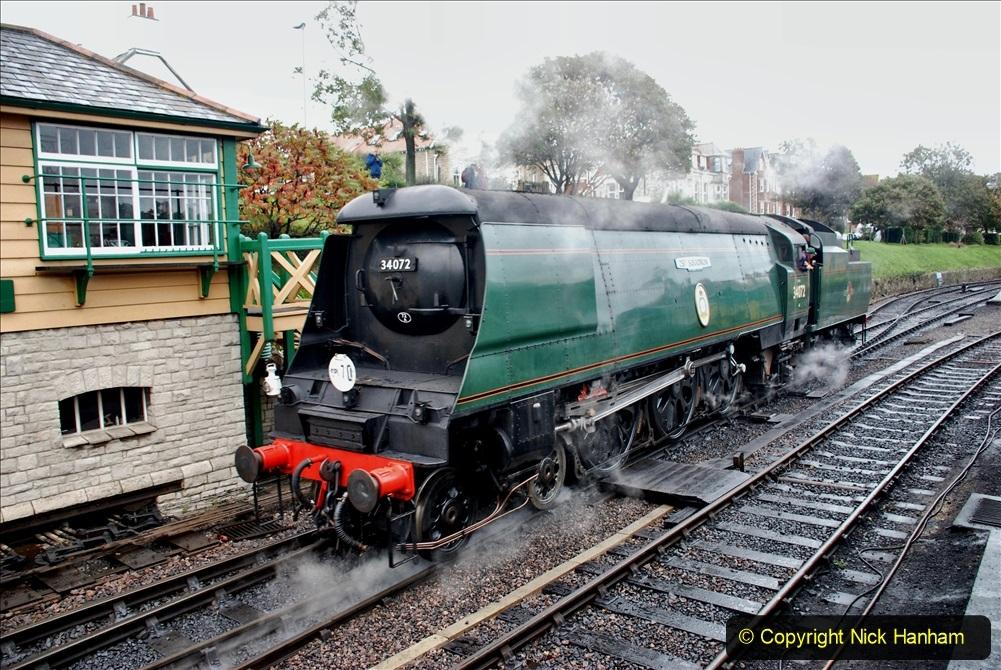2019-10-11 Six Locomotives for the SR Autumn Steam Gala. (181) 181