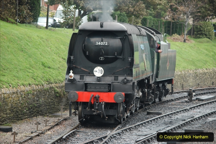 2019-10-11 Six Locomotives for the SR Autumn Steam Gala. (184) 184