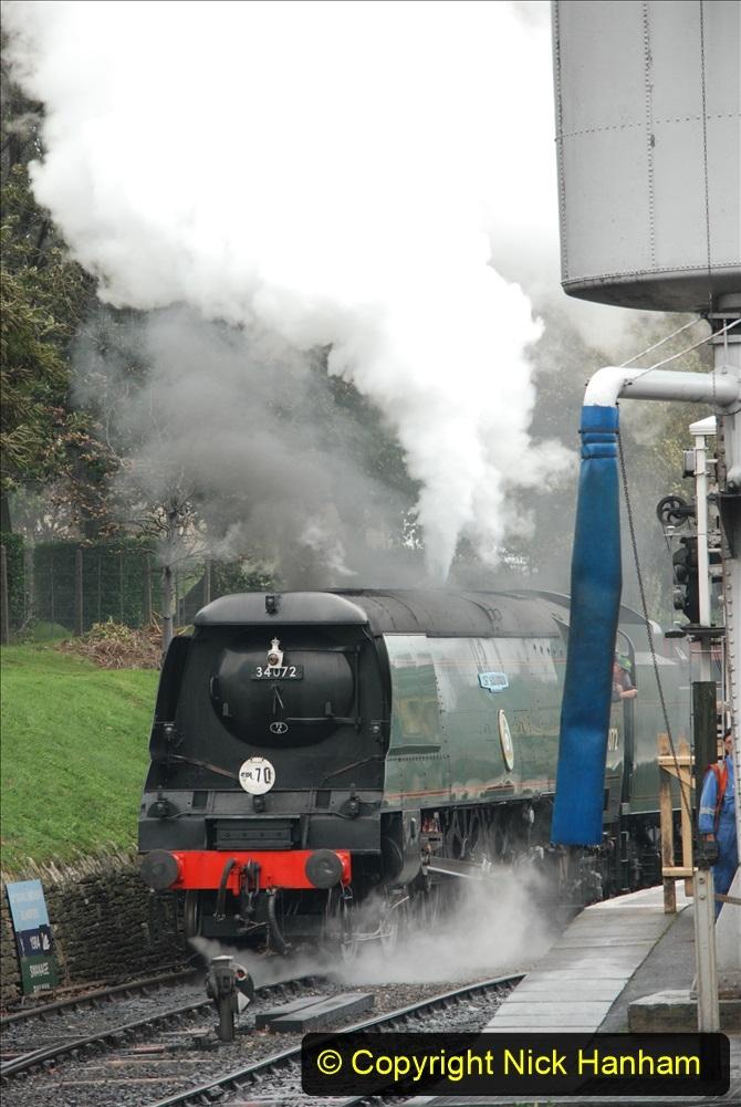 2019-10-11 Six Locomotives for the SR Autumn Steam Gala. (185) 185