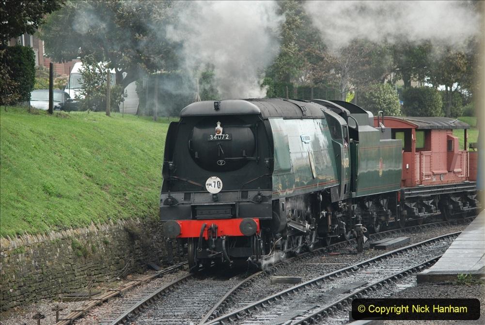 2019-10-11 Six Locomotives for the SR Autumn Steam Gala. (186) 186