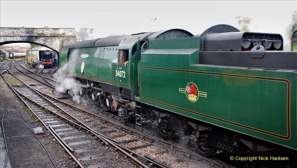 2019-10-11 Six Locomotives for the SR Autumn Steam Gala. (189) 189