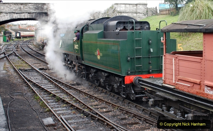 2019-10-11 Six Locomotives for the SR Autumn Steam Gala. (190) 190