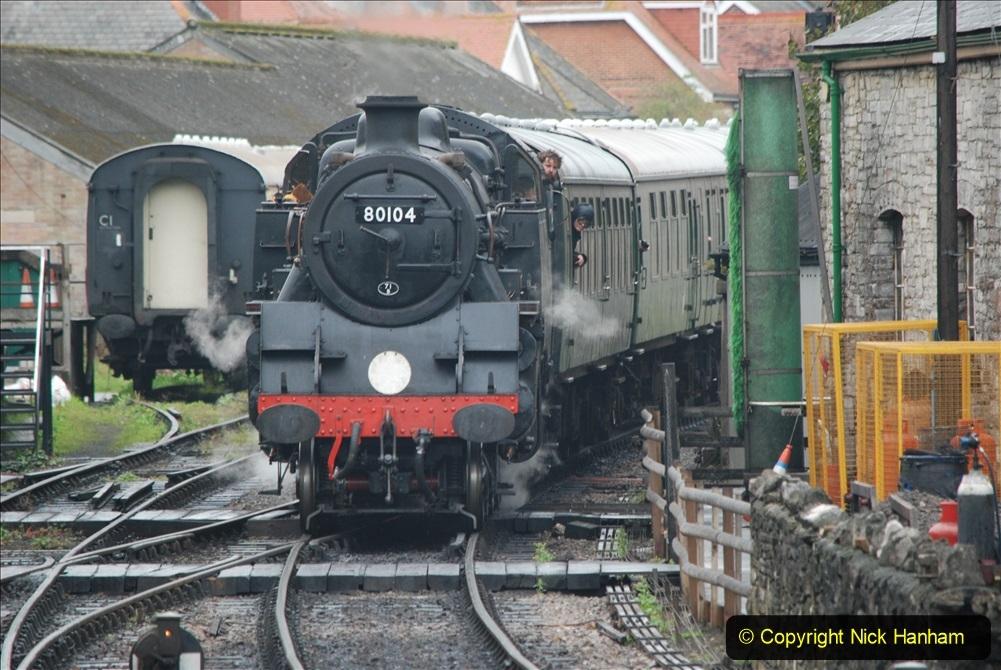 2019-10-11 Six Locomotives for the SR Autumn Steam Gala. (193) 193