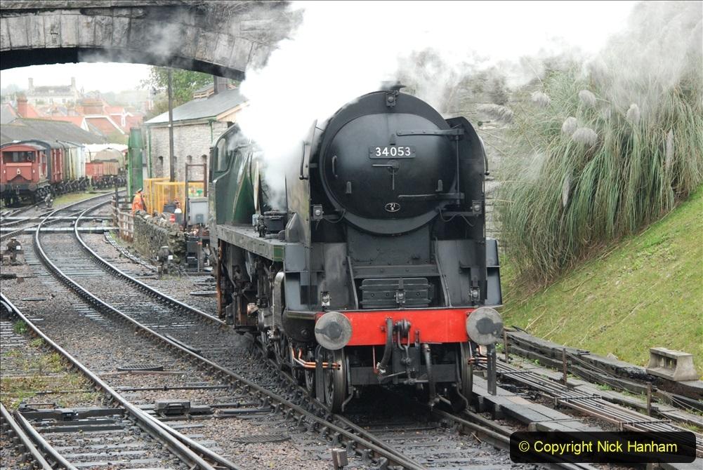 2019-10-11 Six Locomotives for the SR Autumn Steam Gala. (196) 196