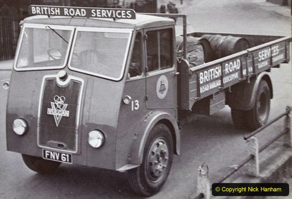 BRS vehicles 1950s and 1960s. (2) 002