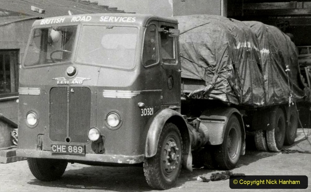 BRS vehicles 1950s and 1960s. (22) 022