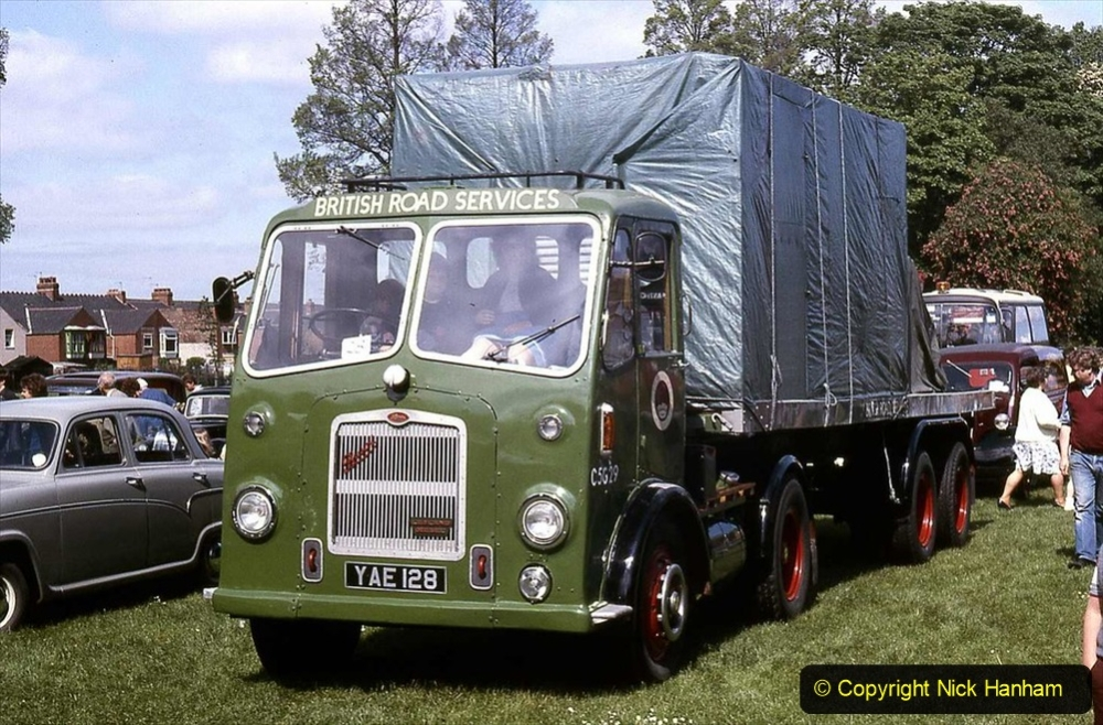 BRS vehicles 1950s and 1960s. (32) 032