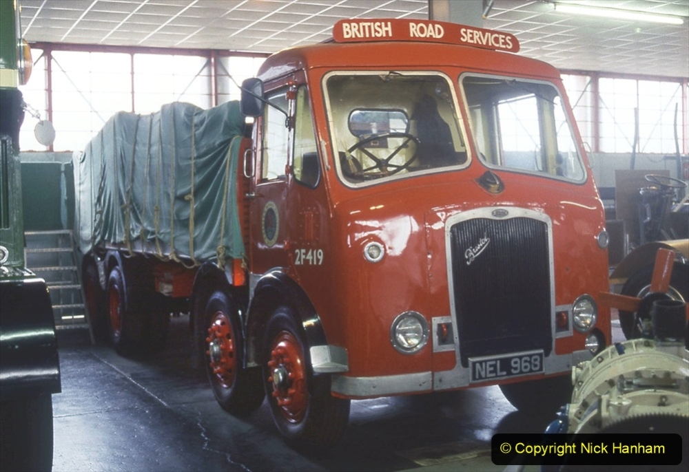 BRS vehicles 1950s and 1960s. (33) 033