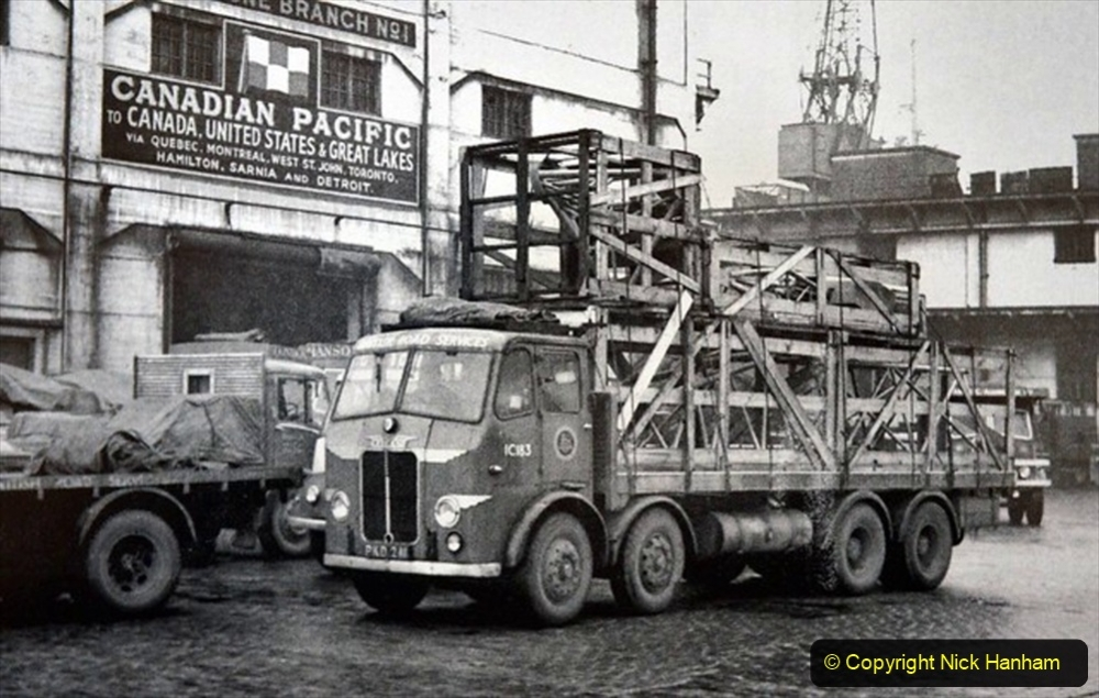 BRS vehicles 1950s and 1960s. (37) 037