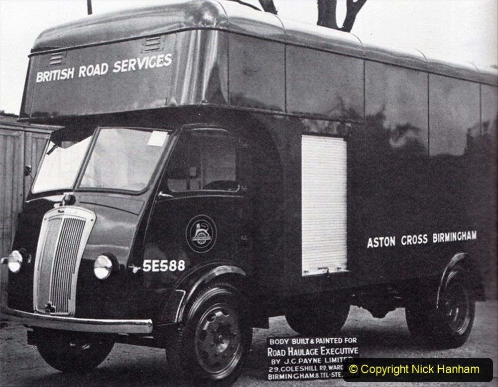BRS vehicles 1950s and 1960s. (50) 050