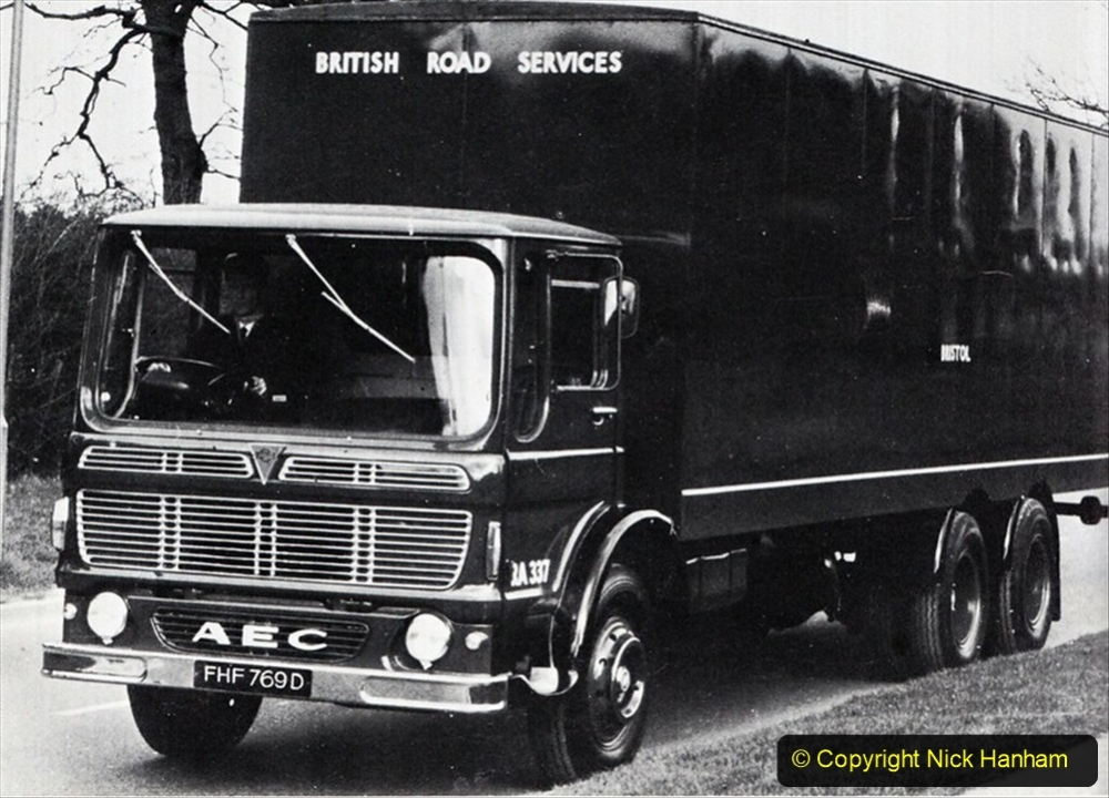 BRS vehicles 1950s and 1960s. (51) 051