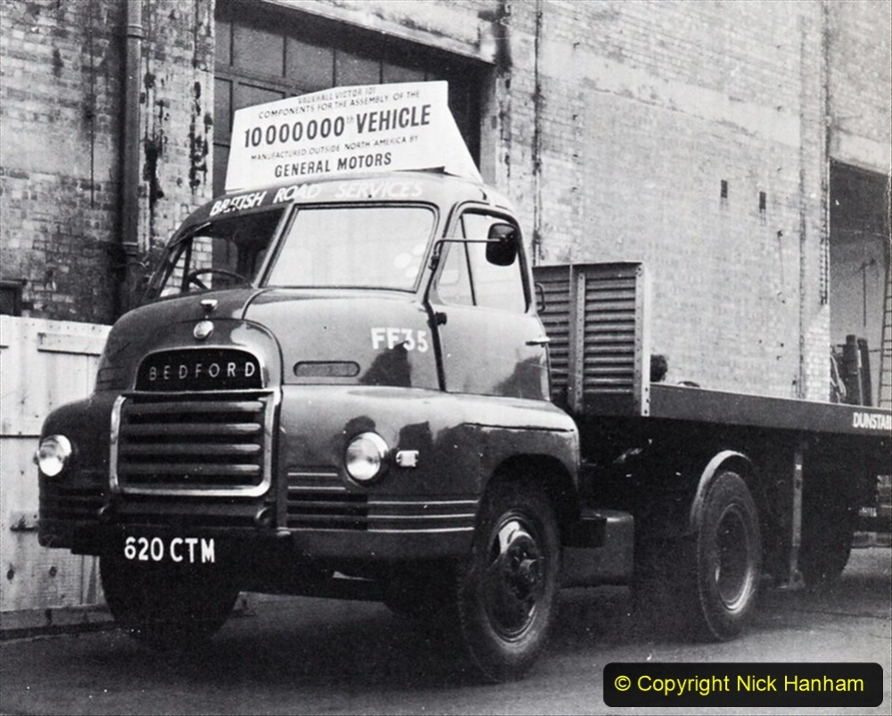 BRS vehicles 1950s and 1960s. (52) 052