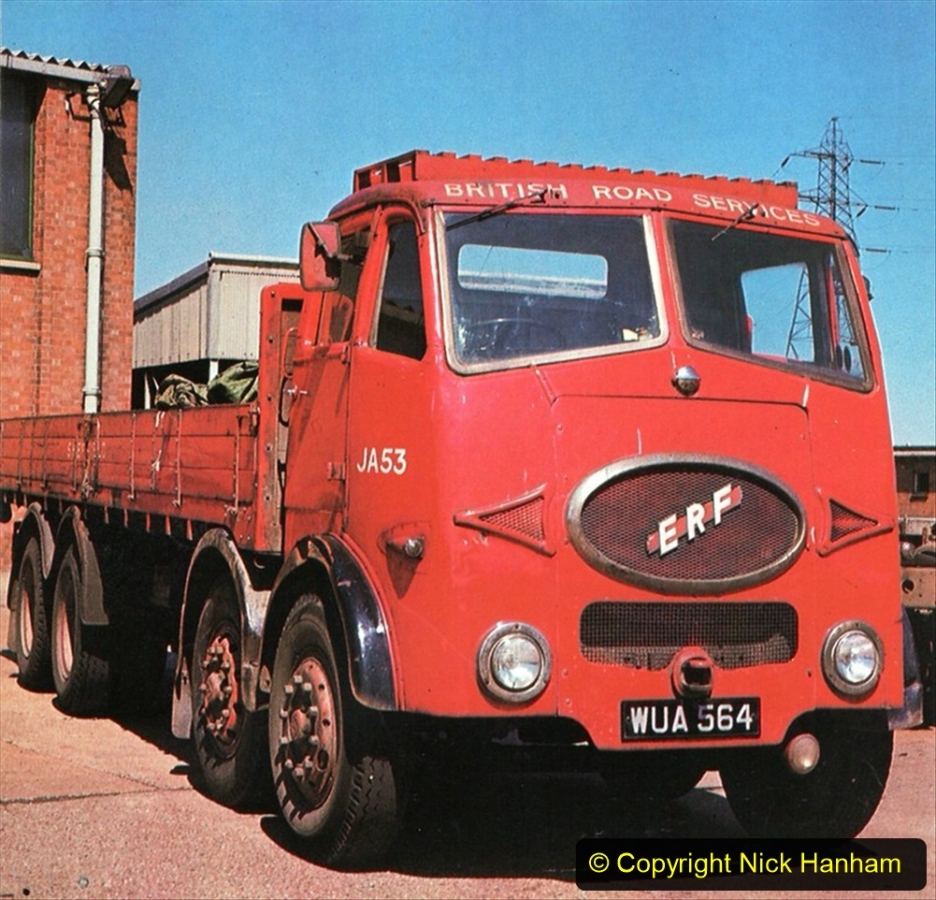 BRS vehicles 1950s and 1960s. (55) 055