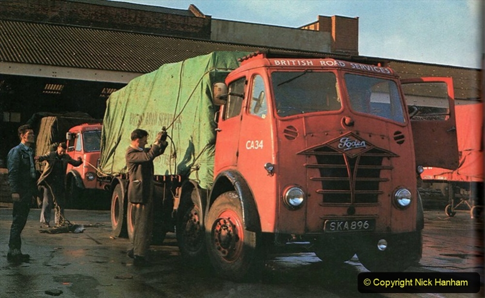 BRS vehicles 1950s and 1960s. (56) 056