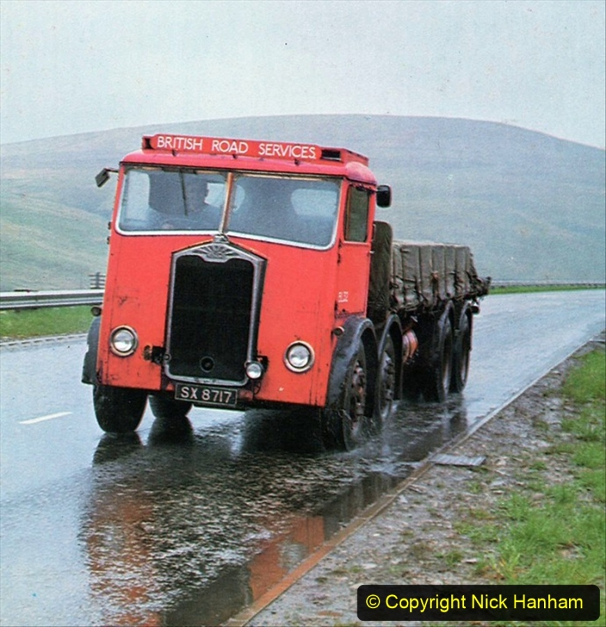 BRS vehicles 1950s and 1960s. (58) 058