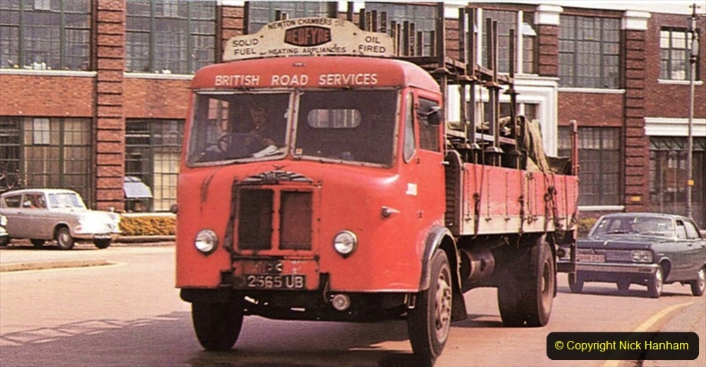 BRS vehicles 1950s and 1960s. (60) 060